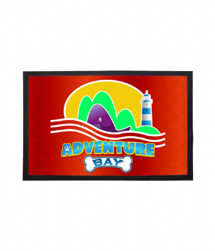 Adventure Bay Doormat Welcome Mat Inspired by Paw Patrol
